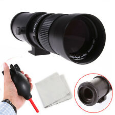 420-800mm f/8.3-16 Zoom Telephoto Lens for Canon EOS 7D 5D 80D 70D 750D 60D 700D