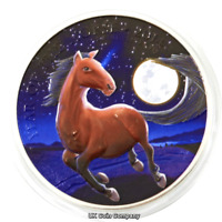 2014 United Kingdom Lunar Horse 1oz Silver Coin In Capsule Royal Mint
