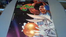 Space Jam Michael Jordan Bugs Bunny Original Cardboard  2 Sided Theater Poster