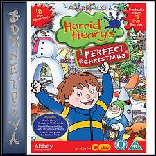 HORRID HENRY - PERFECT CHRISTMAS- 3 DVD BOXSET *BRAND NEW DVD BOXSET****