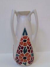 Important vase amphore Art Déco aux 3 anses signé Octave LARRIEU ( 1881-1965 )