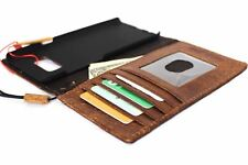 genuine leather Case for Samsung Galaxy S8 Plus Credit Cards slots id window