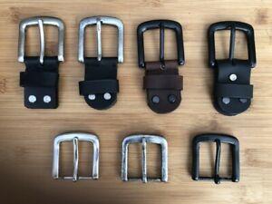 Belt Buckle Leather Strap Solid Belt Buckle 38 ,40-mm Wide 60Grms Solid Alloy UK