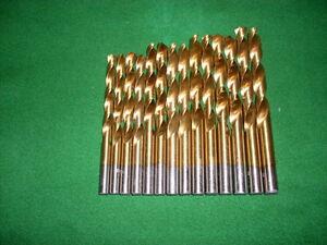 HSS-G TITAN Spiralbohrer Set DIN 338 Satz 14-tlg. 7,0 - 10,0x0,5 mm Metallbohrer