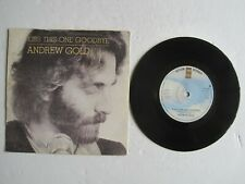 """ANDREW GOLD - KISS THIS ONE GOODBYE - 7"""" 45 rpm vinyl record"""