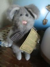 Boyds Bears Munster Mouse Stuffed Collectible The Archive Collection