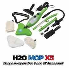 SCOPA A VAPORE H2O MOP X5 LAVAPAVIMENTI IGIENIZZANTE VAPORETTO STERILIZZA