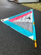 Windsurfing Sail & Boom, Vintage BIC, Sail 15'x12'x8', Mast 15', Boom 8', Nice.