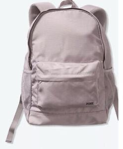 NEW Victoria's Secret PINK Classic Lilac Lightweight Backpack VS Book Bag