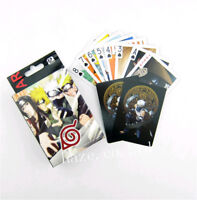 1pcs Anime Naruto Paper Game Playing Cards Poker Collection Xmas Gift