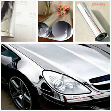 Chrome Silver Vinyl Sticker Electroplated Sheet Film Decal Car Styling Cuttable