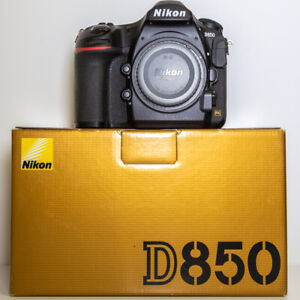Nikon D850 Digital SLR Camera Body Only & Boxed