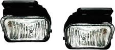 New Fog Lights Pair W/Brackets Fits Chevy Silverado 2004 2005 2006 2007 Classic