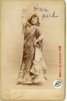 Ch. Reutlinger, Une actrice pose (Annoté par Arletty en 1978) Vintage Print Cart