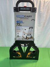 Magna Cart Personal 150 Lb Capacity Aluminum Folding Hand Truck