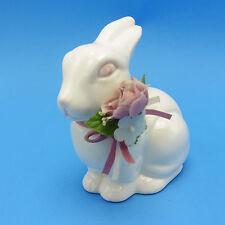 Lefton Easter Bunny Rabbit Sitting 06005 1987