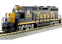 Kato 37-3022-1 HO EMD GP35 Phase Ia Locomotive w/ ESU DCC Santa Fe #3305