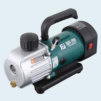 NEW Rotary Vane Vacuum Pump Single Stage Lab Refrigerator Pump 1.8CFM 1/6HP 220V