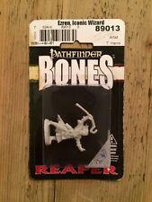 Reaper, Bones, Pathfinder miniature: Ezren, Iconic Wizard