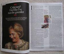 Hillary Clinton - Seven magazine – 20 July 2014