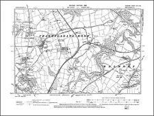 Framwellgate Moor, Durham (N), old map Durham 1898: 20SW repro
