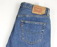 Levi's Strauss & Co Hommes 501 Jeans Jambe Droite Taille W36 L36 AVZ219