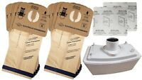 12 LUX 9000 Type R Bags + HEPA FILTER Bundle FOR LUX ELECTROLUX AERUS GUARDIAN