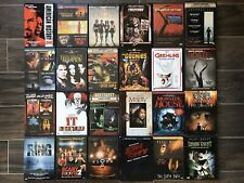 Horror Dvd Movie Lot Creepshow, Crow, It, Misery, Sin City, Tales From The Crypt