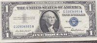 USA 1 Dollar 1957 Silver Certificate One Banknote Schein Gute Erhaltung #21962