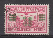 Nederlands Indie Indonesie 12 used Netherlands Indies luchtpost airmail 1930
