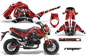 Moto Grafica Kit Decalcomania Adesivo Avvolgere Per Honda Grom 125 13-16 Reaper