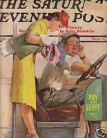 1939 Saturday Evening Post Sept 9 - Flirting with war