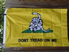 3x5 Embroidered Tea Party Gadson Flag Don'T Tread On Me gadsen gadsden Usa