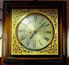 Vintage Sessions Electric Wall Clock USA Model W