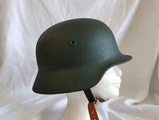 (57) Deutscher bgs bundesgrenzschutz casco casco de acero verde rara vez Alt