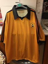 Newport County Ironsiders Football Shirt I Believe Dated 1981 Size Approx L-xl