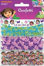 DORA THE EXPLORER PARTY SUPPLIES CONFETTI FOR TABLE DECORATIONS (1.2oz/34g)