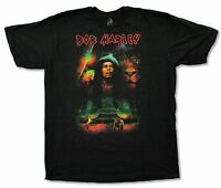 Bob Marley Epic Black T Shirt New Official Adult Lion Space Elephant Reggae
