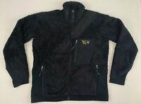 MOUNTAIN HARDWEAR monkey man fleece full zip jacket sz large used om2455
