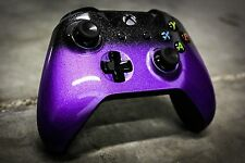 XBox One S Controller Brand New Custom Painted-  Sunday Purple Fade