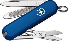 Victorinox Classic SD Swiss Army Knife Scissors nail file tweezers Blue 53002