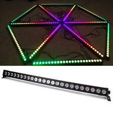 RGB 24LED Wall Washer Light Stage Effect Lighting DMX Sound Disco Bar Party Show