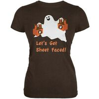 Primitives By Kathy Halloween Lets Get Sheet Faced Ghost Adult Unisex Sock