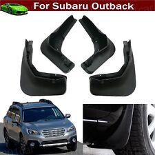 4 Car Mud Flap Splash Guard Fender Mudguard Mudflap For Subaru Outback 2015-2018
