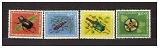 NETHERLANDS NEW GUINEA 1961 Insects 4v 37211