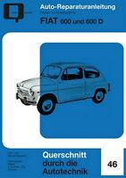 Fiat 600 D Reparaturanleitung Reparatur-Handbuch Reparaturbuch Wartung Buch POD