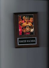 MARCOS MAIDANA PLAQUE BOXING CHAMPION WITH BELT