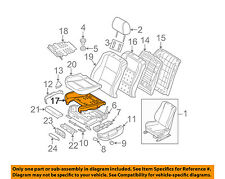 BMW OEM 97-03 540i Front Seat Bottom-Foam Cushion Pad Insert 52108162329
