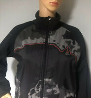 Speedo Womens Camouflage Sports Active Jacket Uk Size 12 Black Mix Exc