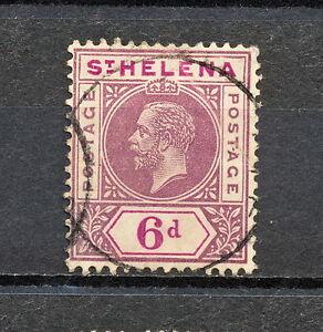 (NNAL 094) St Helena 1913 USED